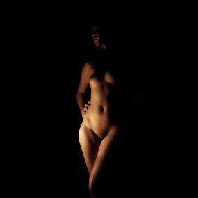 Women from the Shadow by Jonatan Kubena - Nudes & Boudoir Artistic Nude ( nude legs shadow body skin )