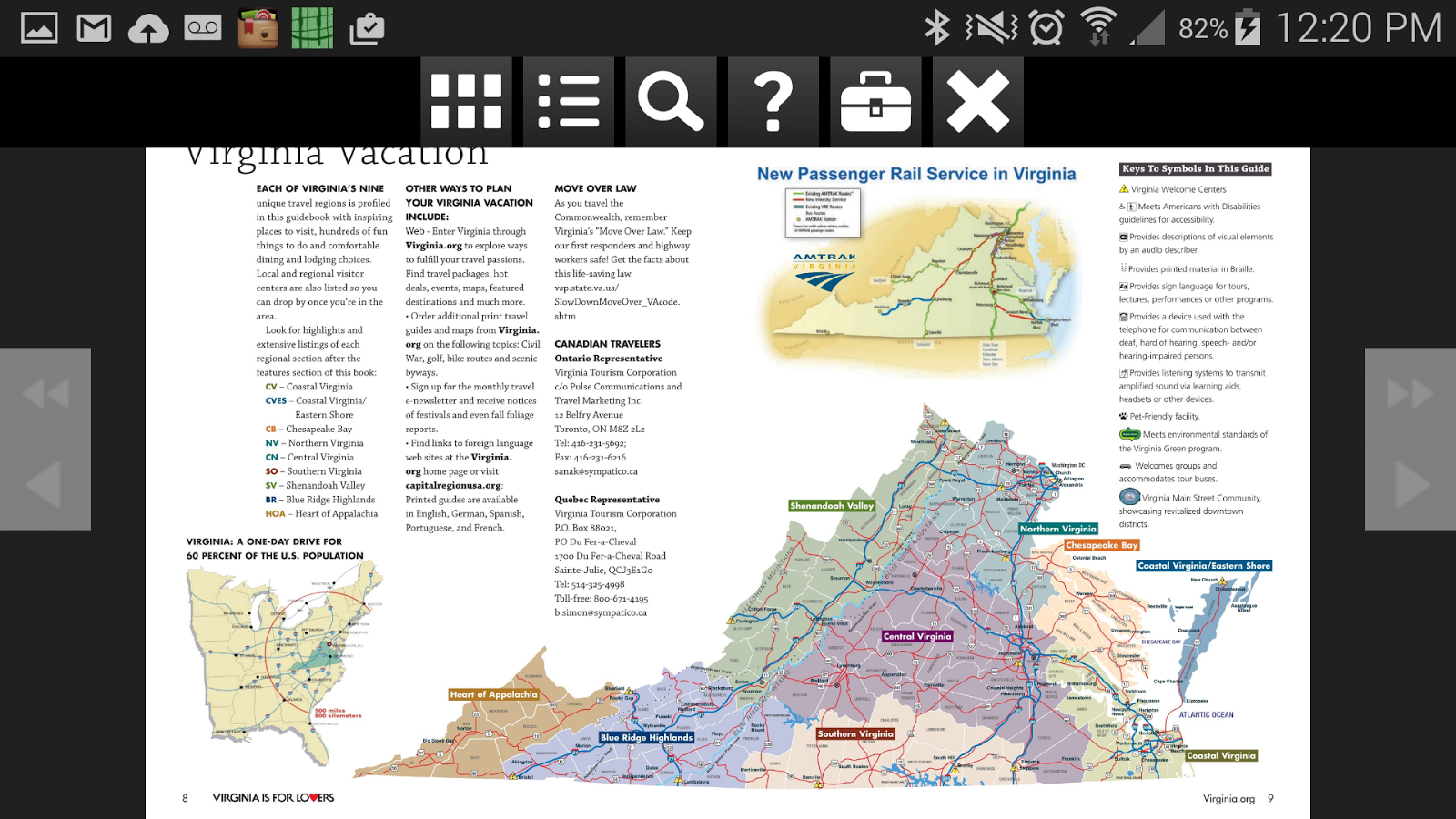 Virginia Travel Guide Android Apps on Google Play – Virginia Travel Map