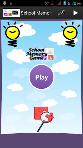 School Memory Game