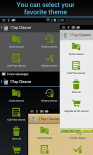 1Tap Cleaner (Cache, History) - screenshot thumbnail