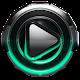 Poweramp skin Mint Glow v1.42