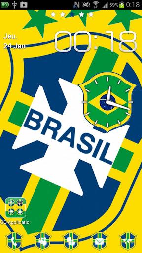 Go Launcher tema Brasil Light