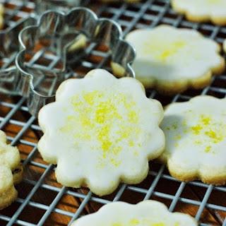 Lemon-Glazed Butter Cookies