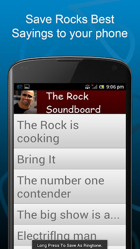 The Rock Soundboard Quotes