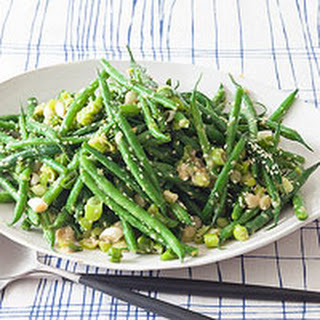 Miso Green Beans