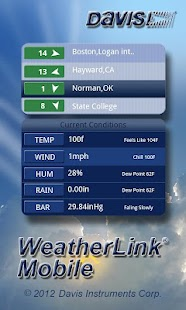 WeatherLink Mobile- screenshot thumbnail