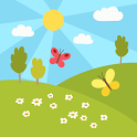 Summer - kids educational game icon