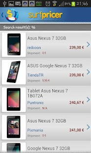 Price comparison - screenshot thumbnail