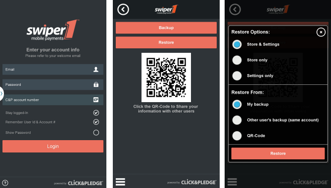 Swiper1 Credit Card Processing - screenshot