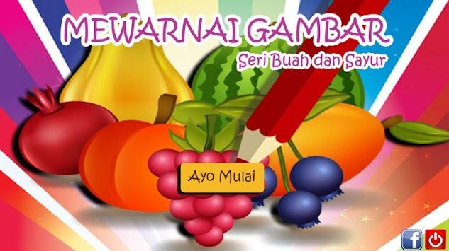 Mewarna Buah Buahan Dan Sayur Sayuran Apk 2 2 1 Permainan