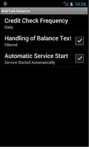 AldiTalk Balance - screenshot thumbnail
