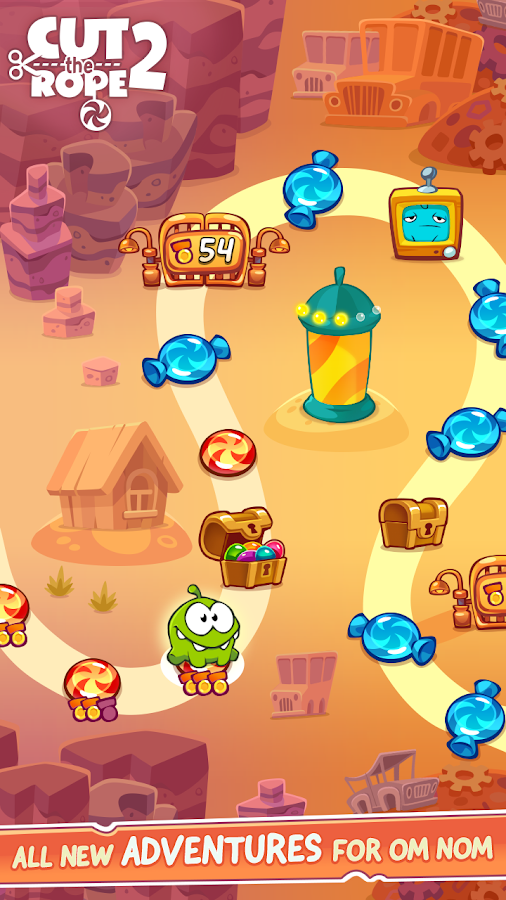 Cut the Rope 2 - screenshot