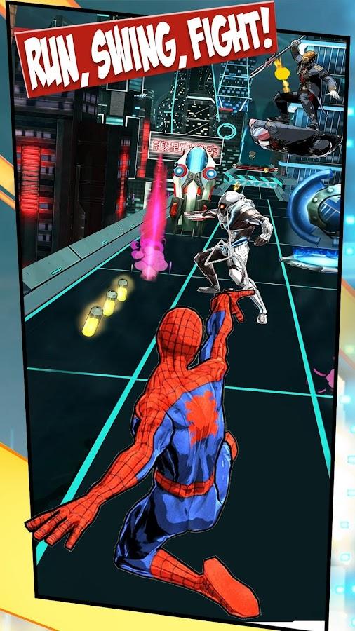 حمل لعبة سبايدر مان الشهيرة المليئة بالاثارة والتشويق Spider-Man Unlimited