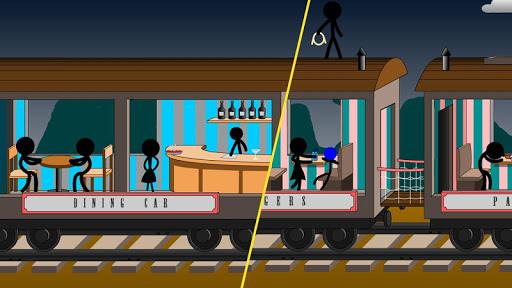 Stickman Death Train