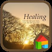 healing dodol launcher theme