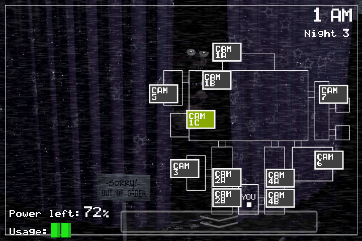 Screenshots of Five Nights at Freddy's for iPhone