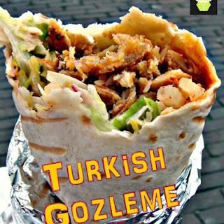 Gozleme (Turkish Bread).
