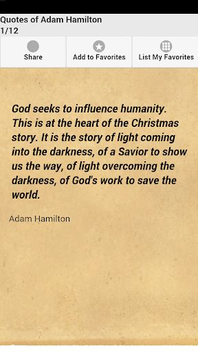 Quotes of Adam Hamilton