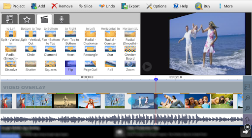 VideoPad Video Editor Free  screenshots 3