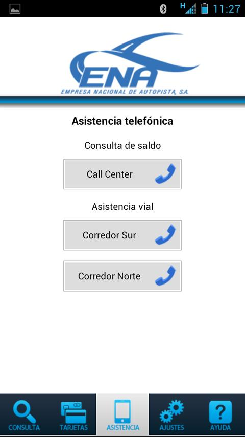 ENA Corredores - screenshot