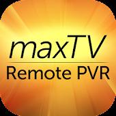maxTV Remote PVR