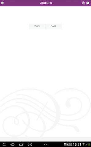 The NCE & CPCE Exam Prep App Screenshot