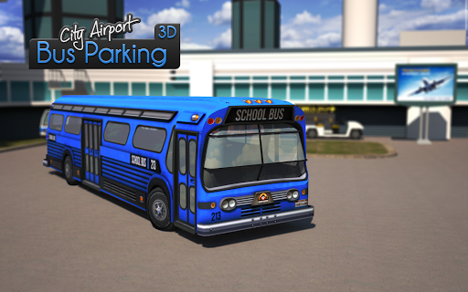 City Airport 3D Bus Parking