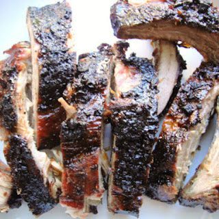 Grilled Baby Backs with Sweet Soy Glaze