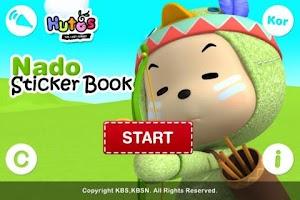 Screenshot of Nado Sticker Book Lite