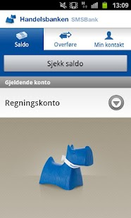 Handelsbanken SMSBank - screenshot thumbnail