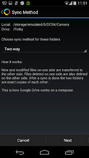 Autosync for Google Drive- screenshot thumbnail