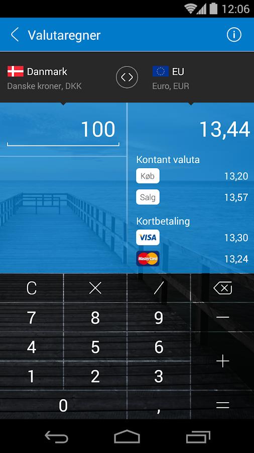Sydbanks MobilBank- screenshot