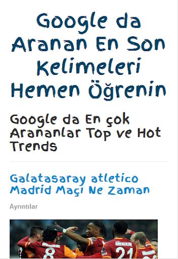 Google Trendleri