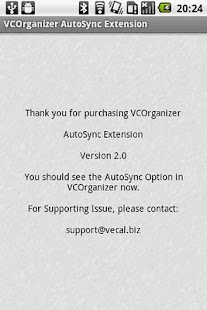 VCO AutoSync - screenshot thumbnail
