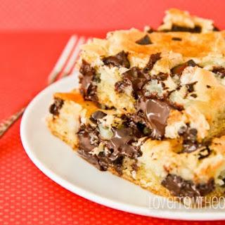 Dark Chocolate Chunk Cream Cheese Cake.