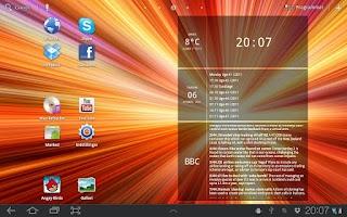 Screenshot of Glass Widgets Unlocker