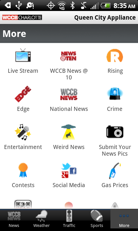 WCCB Charlotte - screenshot
