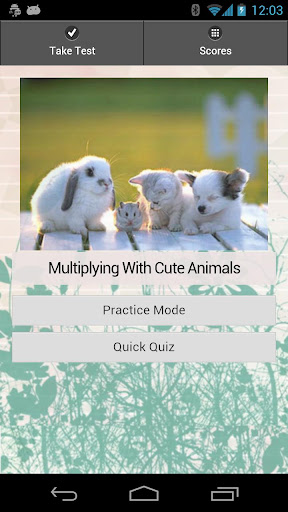 Multiplying With Cute Animals