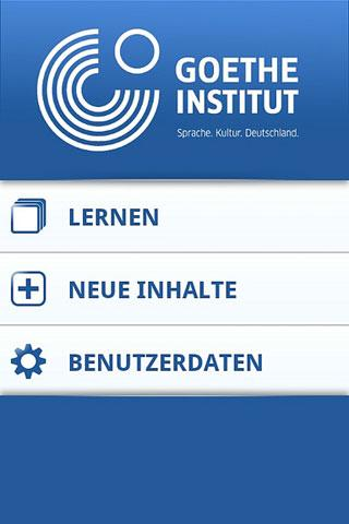 Deutsch Vokabeltrainer – Screenshot