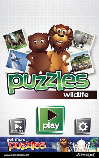 Wildlife Puzzles Pro