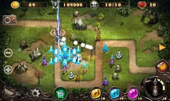 Screenshot of Epic Defense 2 - Wind Spells