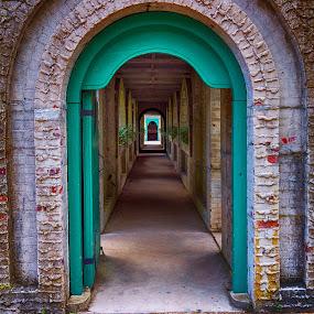 Hall of Arches by Alan Roseman - Buildings & Architecture Architectural Detail ( brookgreen gardens, michael thielen, atalaya, archway, atalaya huntington, south carolina,  )