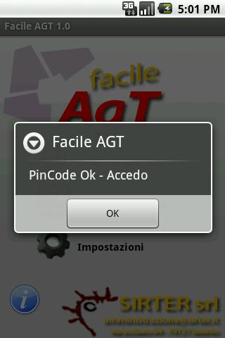 Facile AGT - screenshot
