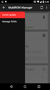 MultiROM Manager Capture d'écran