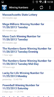Lottery Results Mass Free Android App Market