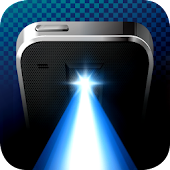 Free app Flashlight + Clock Tablet
