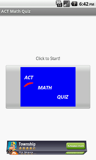 ACT Math Quiz