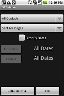 SMS Email Free Version - screenshot thumbnail