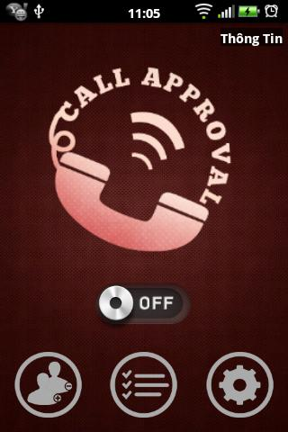 Call Approval- screenshot