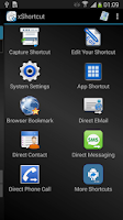 Screenshot of xShortcut FREE